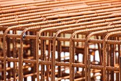 Reinforced steel rods Stock Photography