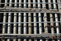 Reinforcement bar to be part of the building structures Stock Photography