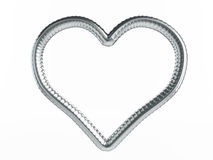 Reinforcement heart symbol Stock Photography