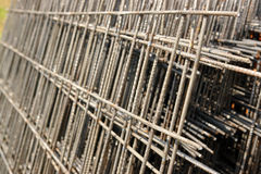 Reinforcement mesh Stock Photography