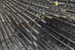 Reinforcement rebar cages 4 Royalty Free Stock Photography