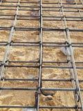 Reinforcement steel bars Stock Image