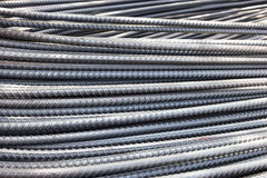 Reinforcement steel bars Stock Images