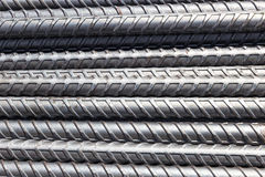Reinforcement steel bars Stock Photography