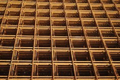 reinforcement steel mesh Royalty Free Stock Image