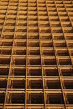 Reinforcement steel mesh Royalty Free Stock Photography