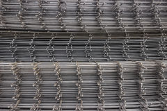 Reinforcement steel mesh background 2 Royalty Free Stock Photo