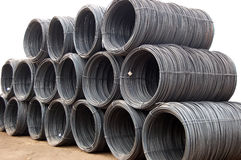 Reinforcement Steel wire Stock Image