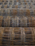 Reinforcement wire mesh Royalty Free Stock Photography