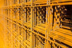 Reinforcing bars Royalty Free Stock Photos