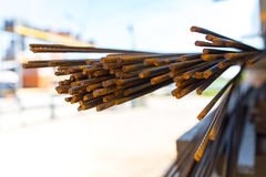 Reinforcing bars Royalty Free Stock Photo