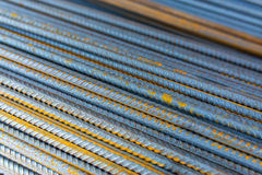 Reinforcing bars Stock Photography