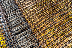 Reinforcing bars Stock Photos