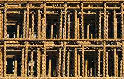 Reinforcing bars. Royalty Free Stock Photos