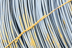 Reinforcing steel bars Royalty Free Stock Photography