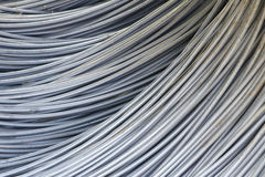 Reinforcing steel bars Royalty Free Stock Photos