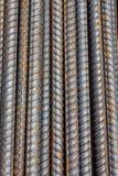 Reinforcing steel bars Stock Image