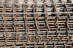 Reinforcing steel bars for building Royalty Free Stock Images