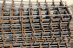 Reinforcing steel bars for building Royalty Free Stock Photo
