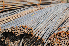 The reinforcing steel bundle Royalty Free Stock Photography