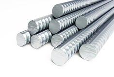 Reinforcing steel. 3d Illustrations Stock Photos