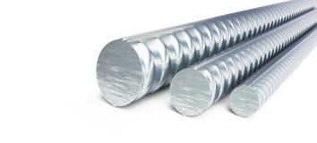 Reinforcing steel. 3d Illustrations Stock Images