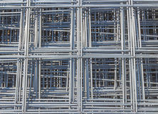 Reinforcing steel mesh Royalty Free Stock Photos