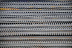 The reinforcing steel rod Royalty Free Stock Image