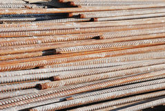 The reinforcing steel rods Royalty Free Stock Image