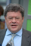 Reinhard Buetikofer. AUGUST 1, 2005 - BERLIN: Reinhard Buetikofer at an election rally of the Green Party in Berlin Royalty Free Stock Photo