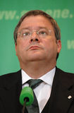 Reinhard Buetikofer. MAY 22, 2005 - BERLIN: Reinhard Buetikofer at a press conference of the Green Party in Berlin Royalty Free Stock Photo