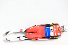 Reinhard Egger - luge Royalty Free Stock Images