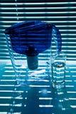 Reinigen-Filter und Glas lizenzfreies stockbild