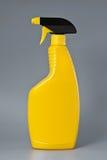 Reinigende Flasche.   Stockfotos