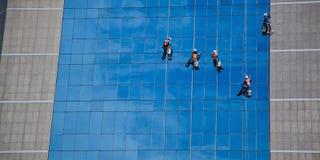 Reiniger auf dem Himmel Lizenzfreies Stockfoto