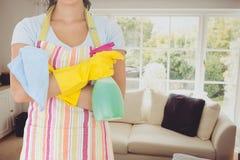 reinigingsmachine in woonkamer stock afbeeldingen