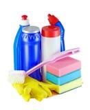 Reinigingsmiddelen Stock Foto
