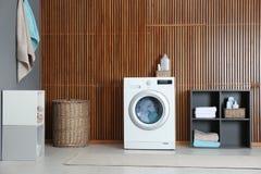 Reinigung von verschiedenen Tüchern stockbilder