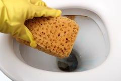 Reinigung Wasserwandschrank. Lizenzfreies Stockbild