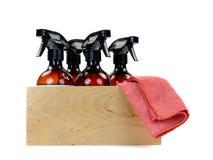 Reinigungs-Produkte Lizenzfreies Stockbild