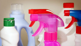 Reinigungs-Produkte Stockbilder