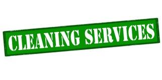 Reinigungsdienstleistungen Lizenzfreies Stockbild