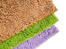Reinigungsfüße Fußmatte oder Teppich für sauberes Ihre Füße Lizenzfreies Stockbild