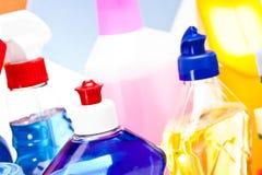 Reinigungsfelder eingestellt lizenzfreie stockbilder