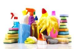 Reinigungsfelder eingestellt lizenzfreie stockfotografie