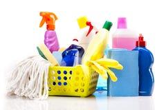 Reinigungsfelder eingestellt getrennt lizenzfreies stockbild