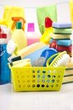 Reinigungsfelder eingestellt, Reinigungsmittel lizenzfreies stockfoto