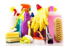 Reinigungsfelder! Erhalten Sie sie sauber! stockbild