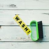Reinigungshaus- oder -bürokonzept Lizenzfreie Stockfotos
