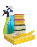 Reinigungshilfsmittel Lizenzfreie Stockbilder